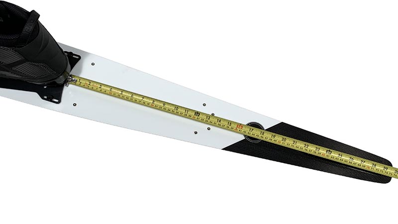 measuring binding location