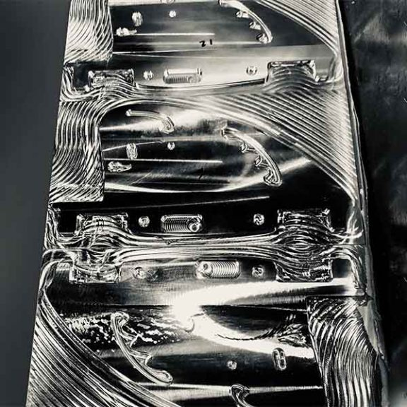 milling WhisperFins from billet